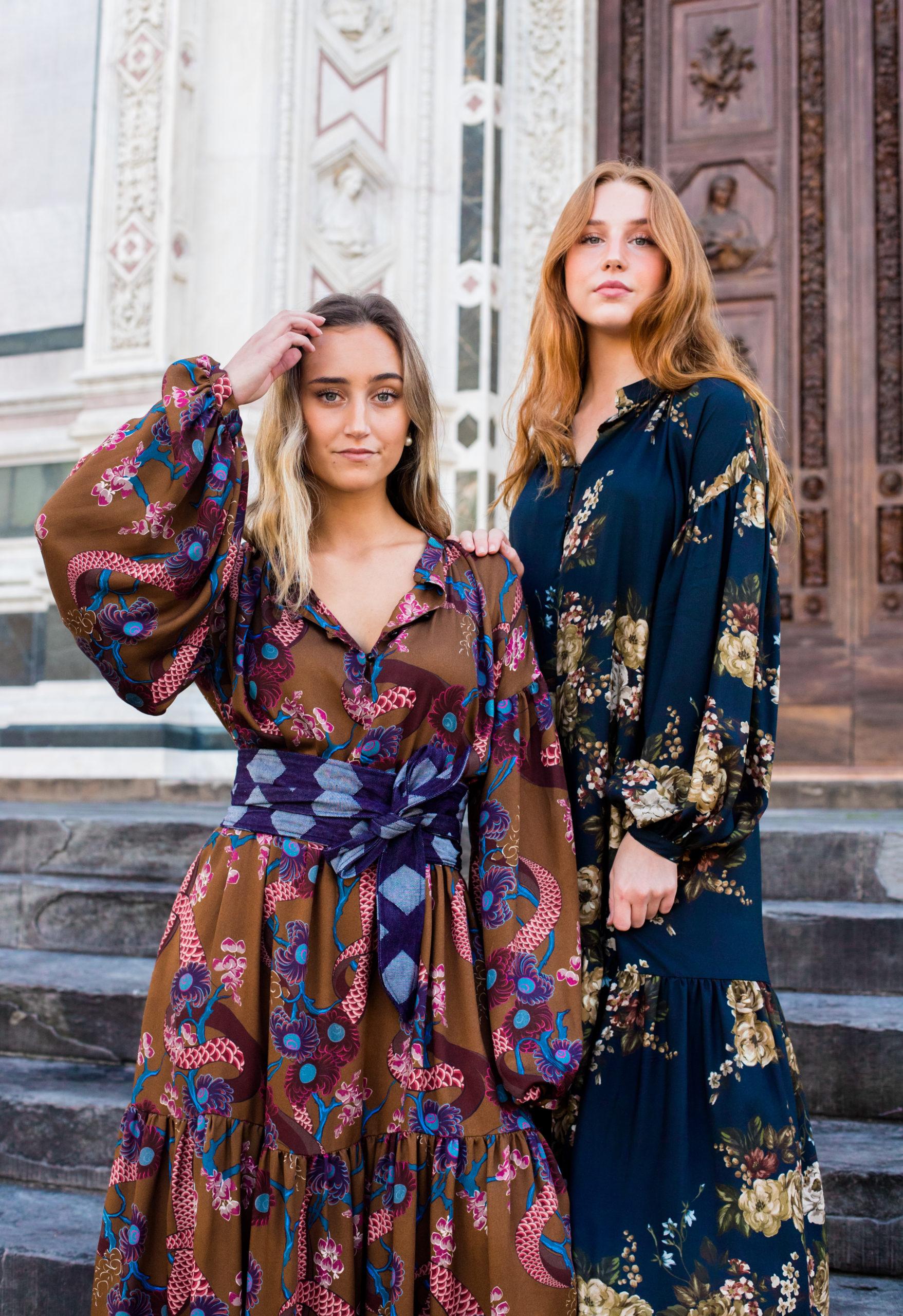abito lungo da cerimonia donna essere atelier negozio di moda abiti personalizzati firenze