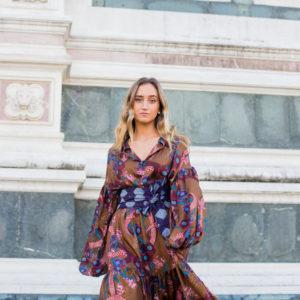 abito lungo donna cerimonia essere atelier negozio di moda abiti personalizzati firenze