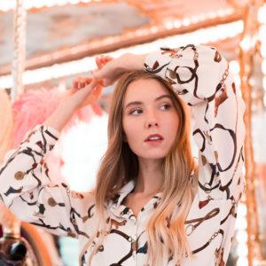 camicia fantasia donna essere atelier negozio di moda abiti personalizzati firenze