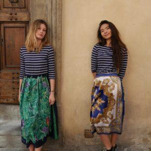 gonne foulard fantasie estive donna essere atelier negozio di moda abiti personalizzati firenze
